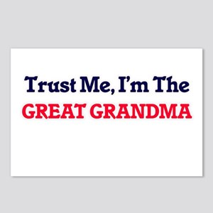 Trust Me, I'm the Great G Postcards (Package of 8)