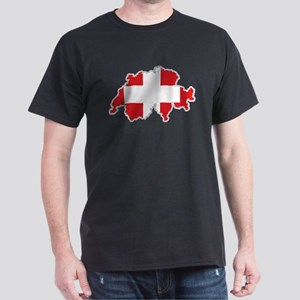 National territory and flag Switzerland T-Shirt