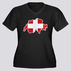 National territory and flag Swit Plus Size T-Shirt