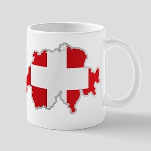National territory and flag Switzerland Mugs