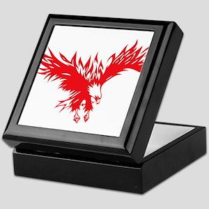 Eagle tattoo design Keepsake Box