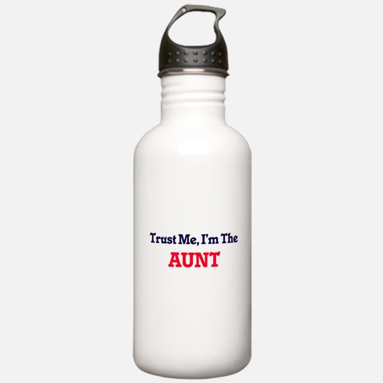 Trust Me, I'm the Aunt Water Bottle