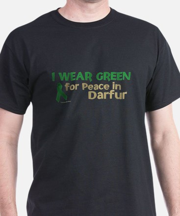 I Wear Green (Peace In Darfur) T-Shirt