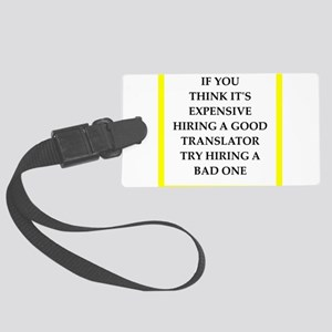 translator Luggage Tag