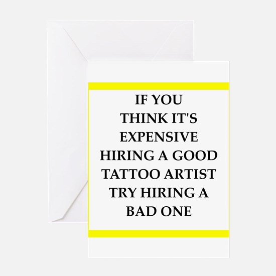 tattoo Greeting Cards