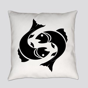 Pisces zodiac sign Everyday Pillow
