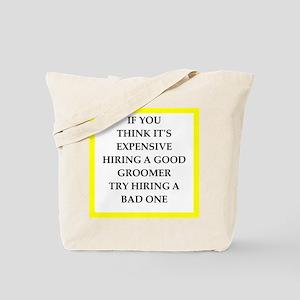 groomer Tote Bag