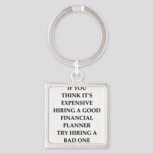 financial planner Keychains