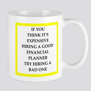 financial planner Mugs