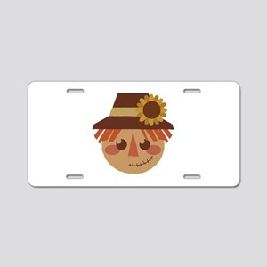 Scarecrow Head Aluminum License Plate