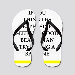 beautician Flip Flops