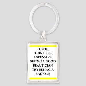 beautician Keychains