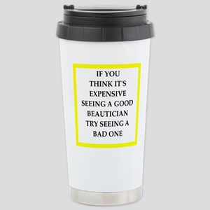 beautician Travel Mug