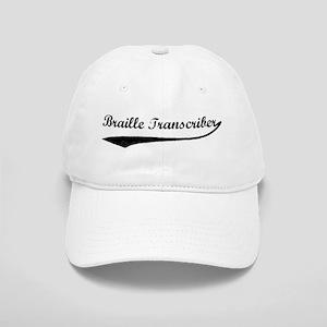 Braille Transcriber (vintage) Cap