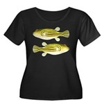 Nile Puffer fish Plus Size T-Shirt