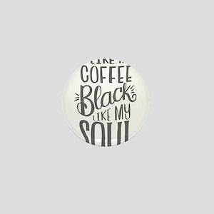 black coffee - 2 Mini Button