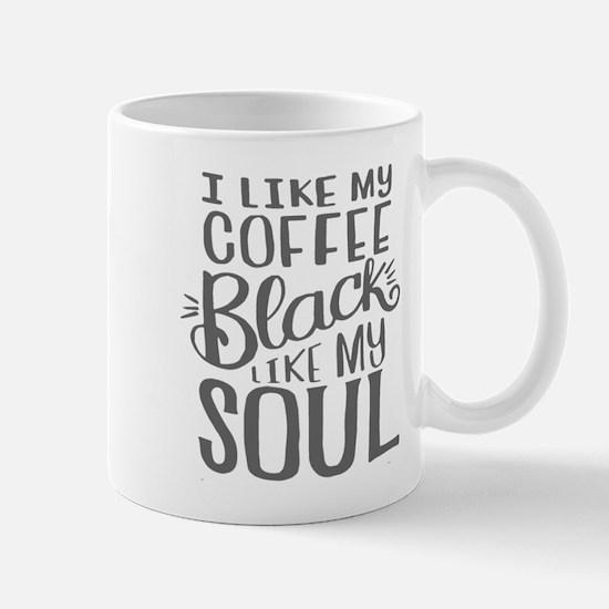 Black Coffee - 2 Mugs