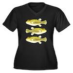 Nile Puffer fish Plus Size T-Shirt
