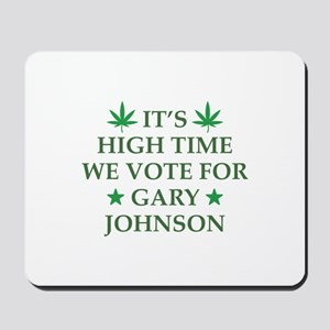 High Time We Vote Mousepad