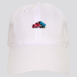 Roll-Off Truck Side Up Retro Baseball Cap