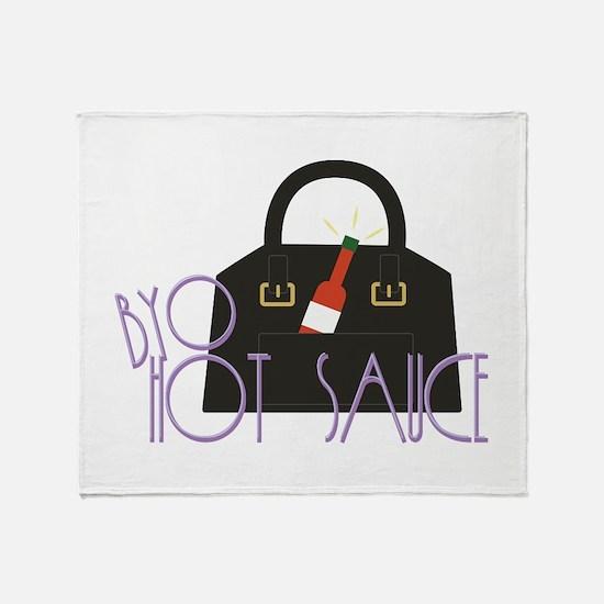 BYO Hot Sauce Throw Blanket