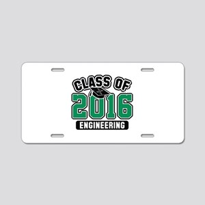 Class Of 2016 Engineering Aluminum License Plate