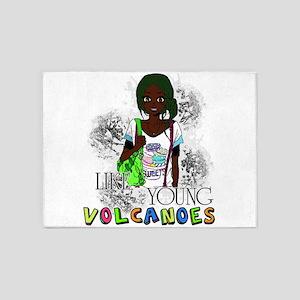 Like Young Volcanoes | FOB 5'x7'Area Rug