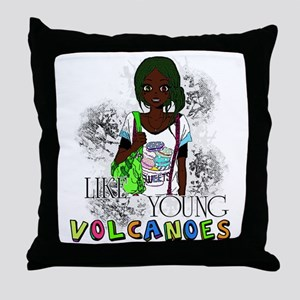 Like Young Volcanoes   FOB Throw Pillow