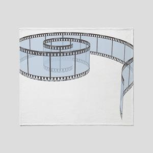 Film Strip Throw Blanket