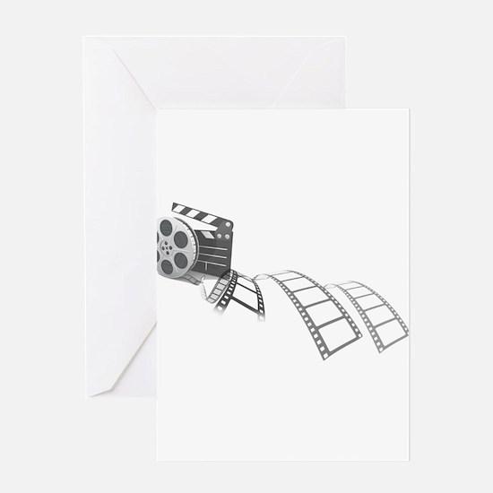 Film Reel Greeting Cards