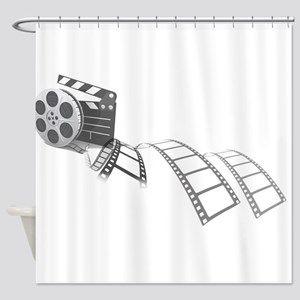 Film Reel Shower Curtain