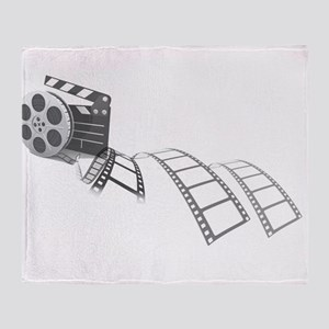 Film Reel Throw Blanket