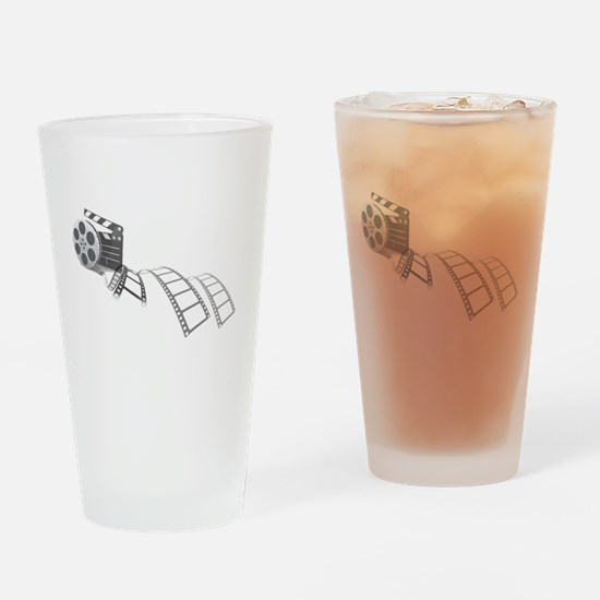Film Reel Drinking Glass
