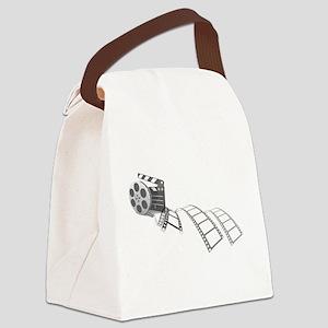 Film Reel Canvas Lunch Bag