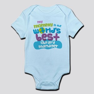 Library Manager Gift for Kids Infant Bodysuit