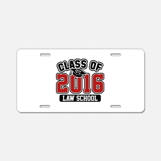 Class Of 2016 Law Aluminum License Plate