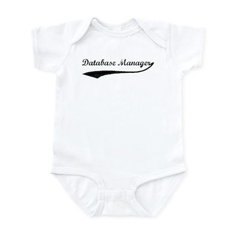 Database Manager (vintage) Infant Bodysuit
