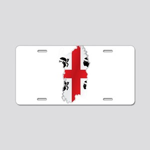 National territory and flag Aluminum License Plate