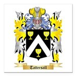 Tattersall Square Car Magnet 3