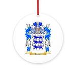 Tasker Round Ornament