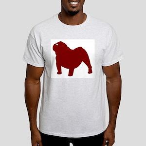 Just Bulldog (Red) T-Shirt