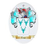 Tapp Oval Ornament