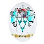 Tapling Oval Ornament