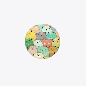 Cute Cats Mini Button