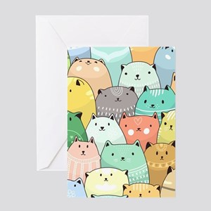 Cute Cats Greeting Cards