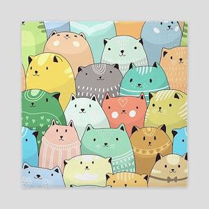 Cute Cats Queen Duvet