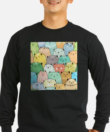 Cute Cats Long Sleeve T-Shirt