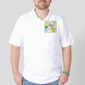 Cute Cats Golf Shirt