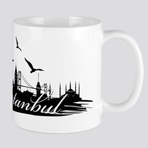 Istanbul design elements Mugs
