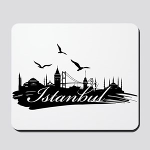Istanbul design elements Mousepad